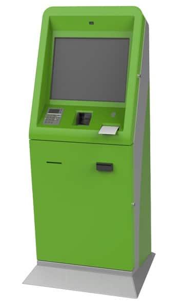 Bill Payment Kiosk Green