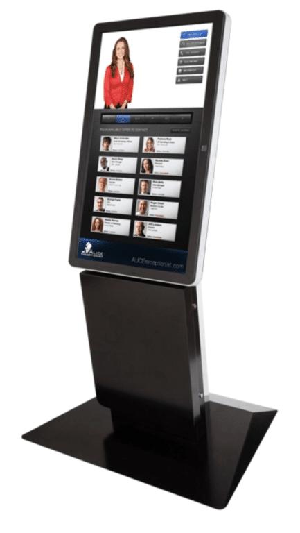 Virtual Receptionist Kiosk